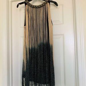 Great Gatsby Inspired Fringe Mini Dress